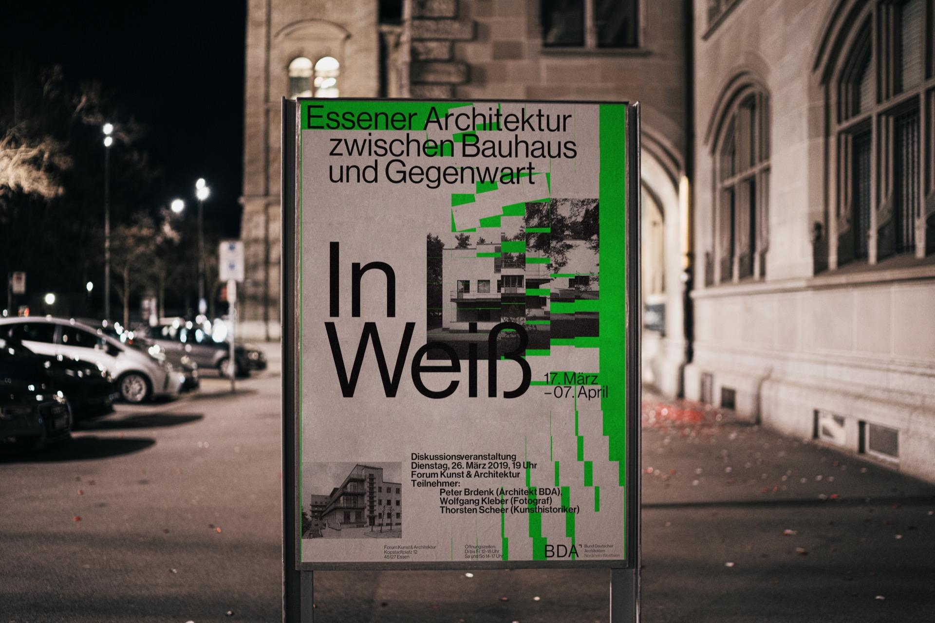 generatives plakat bund deutscher Architekten essen