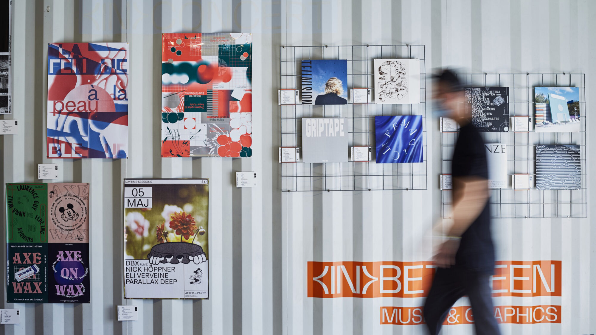 container Ausstellung in hamburg inbetween Schallplatten