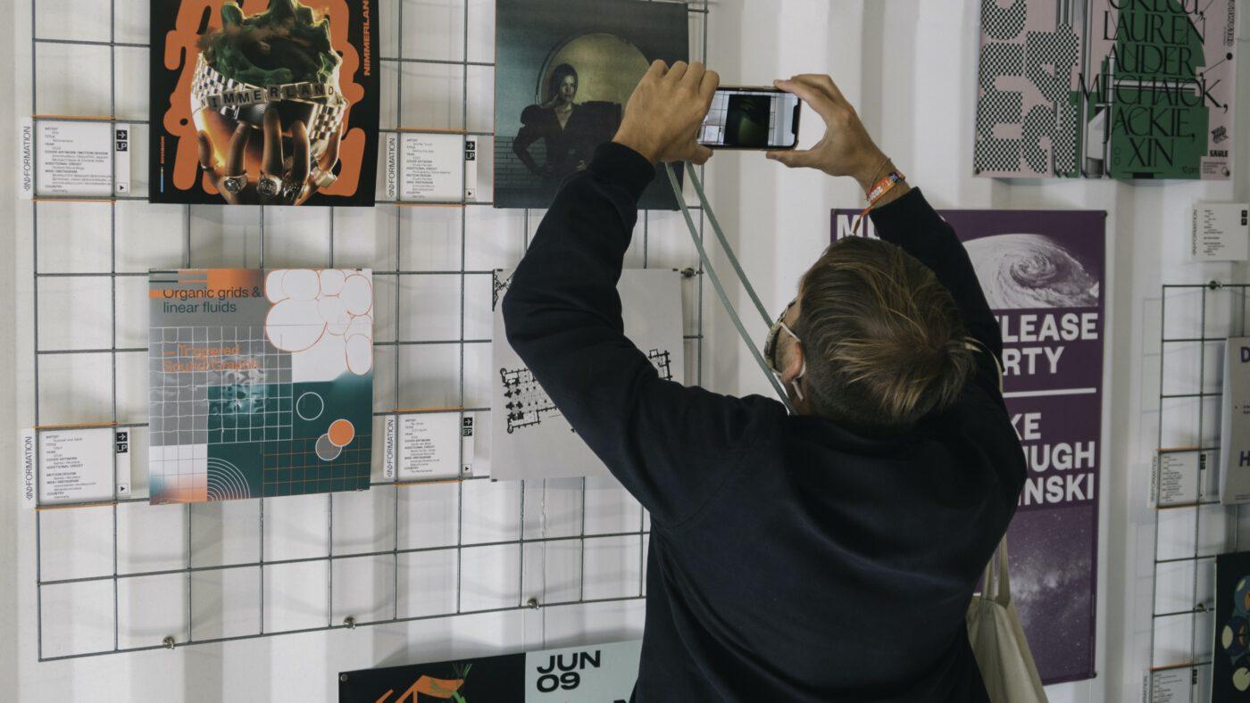 Schallplatten Ausstellung auf dem Reeperbahn festival in hamburg 2021