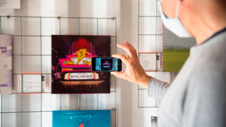 digitale bewegte vinylcover mit artivive zum leben erwecken