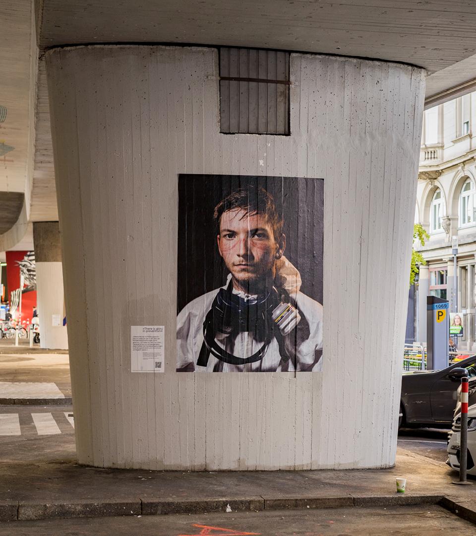 foto portraits der corona Pandemie von Patrick junker