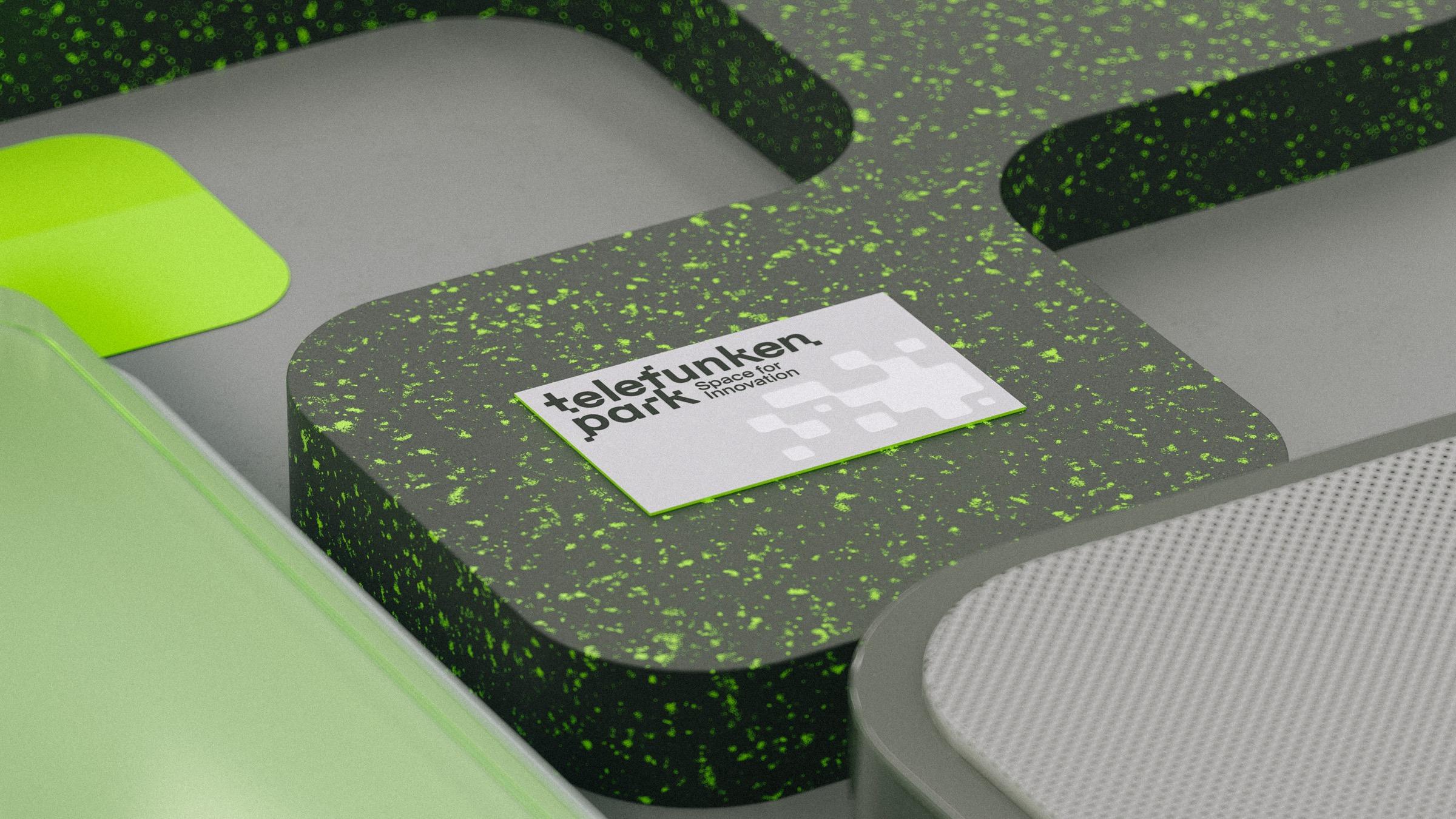 Visitenkarte fuer den businesspark in Heilbronn in dreidimensionalen renderings von Bareis & Nicolaus aus stuttgart und hamburg