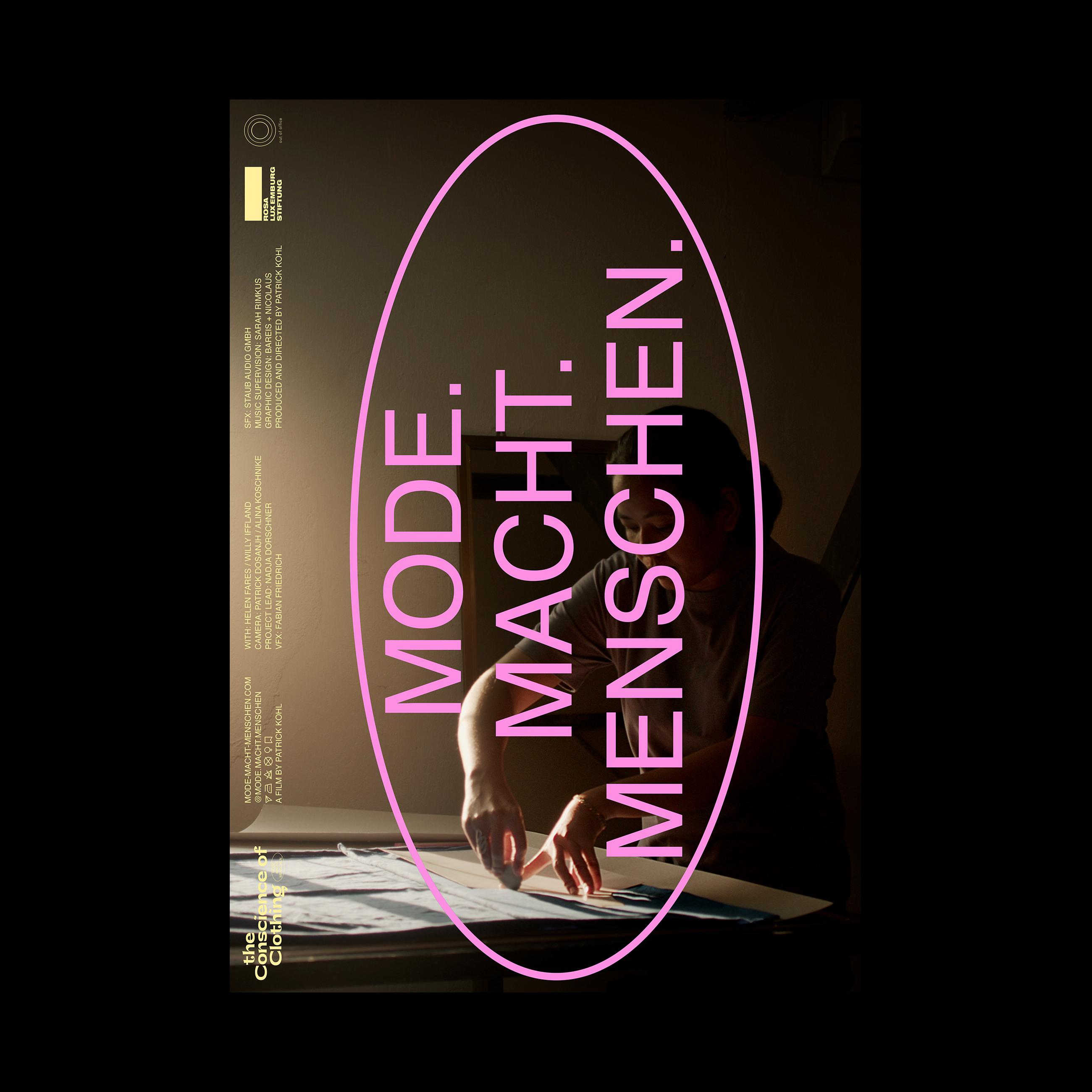 mode macht menschen Filmplakat Berlin