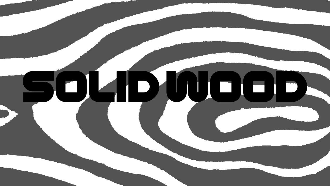 Erscheinungsbildsolid wood