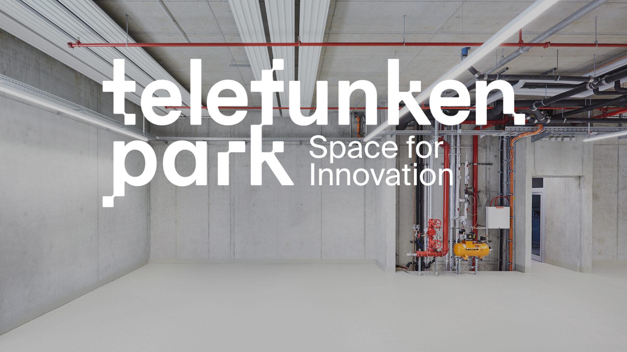 Wortmarke und Slogan von telefunkenpark Heilbronn